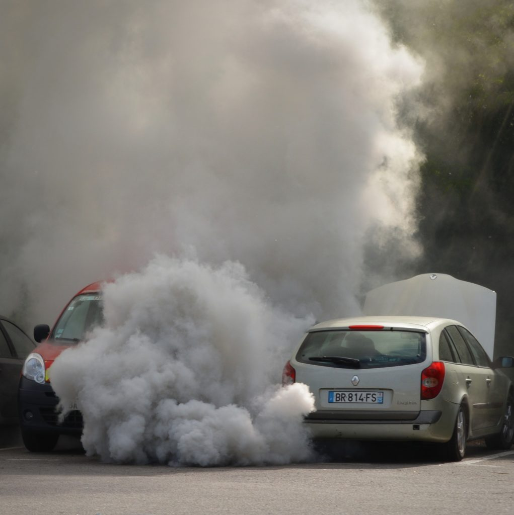 Carbon monoxide is an odorless invisible gas emitted from cars